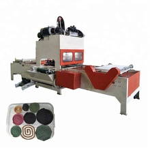 Hoge efficiëntie mosquito coil machine/mug spoel making machine/muggen wierook machine