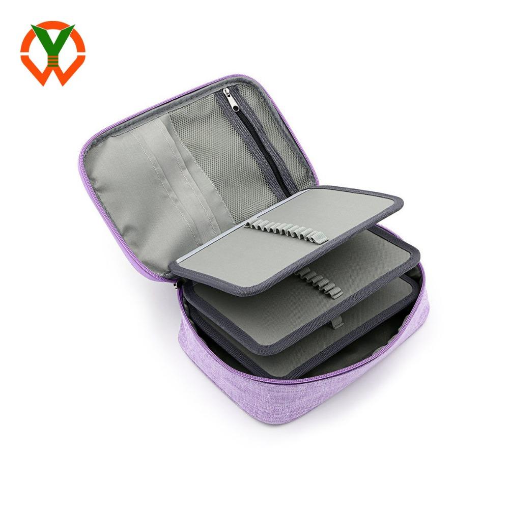 Мульти-функциональная Канцелярия Карандаш сумка 72 слота сумка