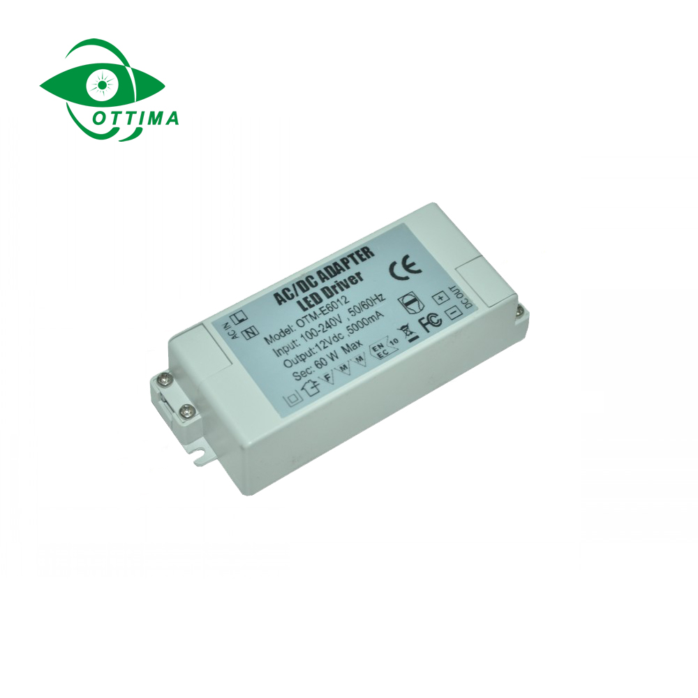 12v 2a IP20 plastic housing 24w constant voltage led driver ac to dc led switching power supply