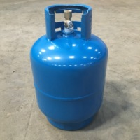 Zimbabwe / South Africa 5kg empty LPG gas cylinder gas bottle for home cooking and camping factory