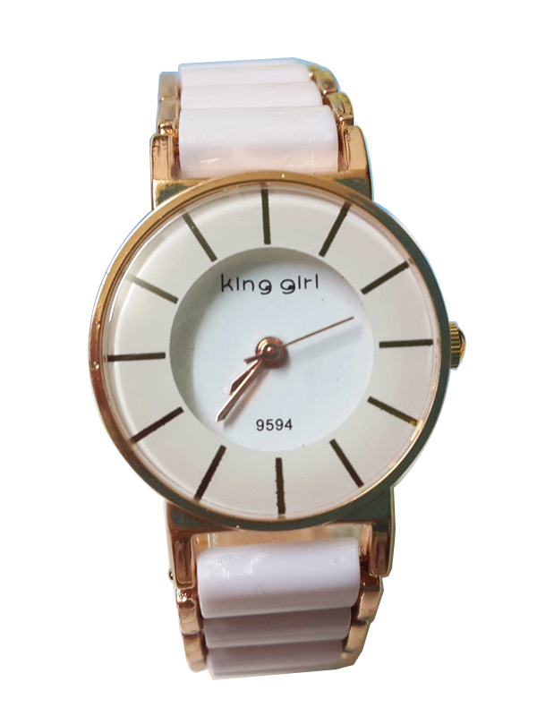 61b87ba97902 Get Quotations · Fashion new ladies gold white ceramic womens watches 2015  girls female montre de luxe femme orologi