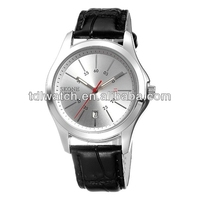 2014 leather japan movt quartz watches brands manufacturer & supplier & Factory