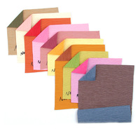 Double sided double color waterproof crepe paper