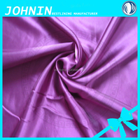 100% polyester shiny satin fabric/polyester satin fabric for wedding draping fabric and evening gown fabric