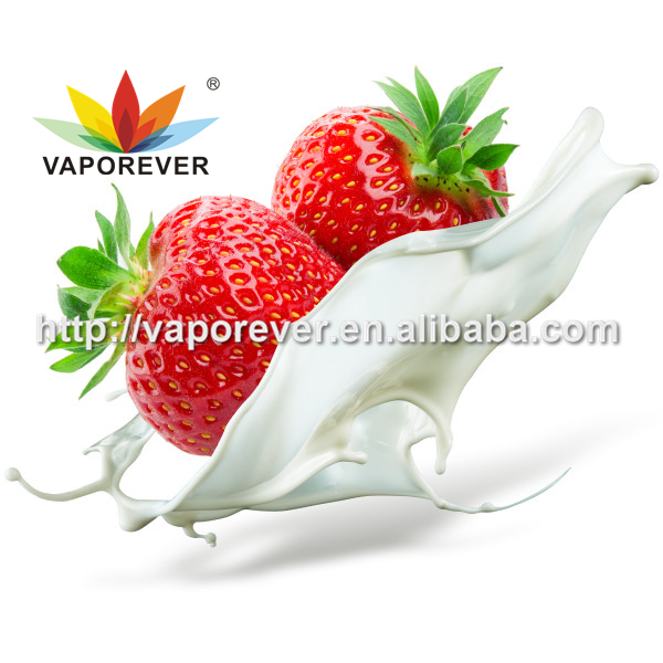 Strawberry cream liquid flavour concentrate add in PG VG base for e liquid