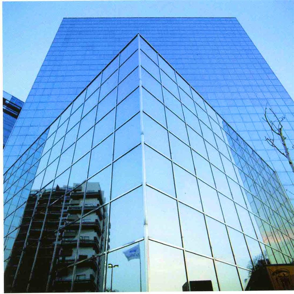 Modern Design Building Facade Materials Glass Curtain Wall