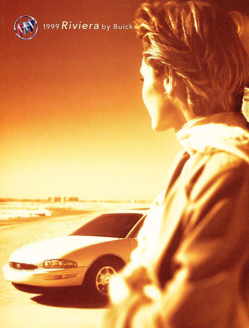 Get Quotations · 1999 Buick Riviera Original Car Sales Brochure Catalog