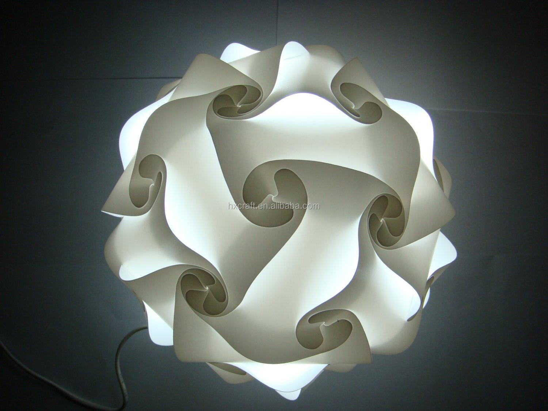 Modern Contemporary Diy Elements Iq Jigsaw Puzzle Lamp Shade ...