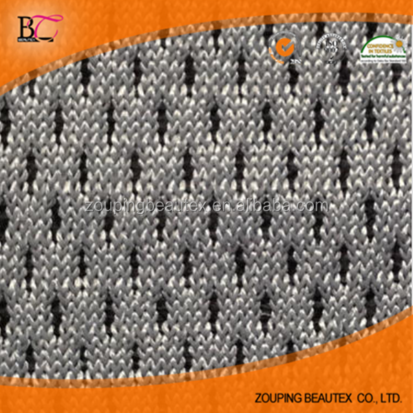 Gray shoes material net cloth fabric manufacturers supply