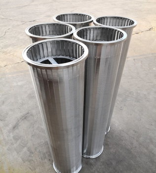stainless steel fine wedge wire pipe candle filter/johnson screen