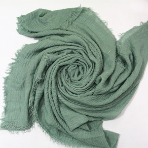 New Shades hijab scarf Soft Cotton High Quality Crimp Crinkle Scarves