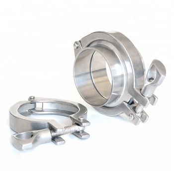 Newest Design Stainless Steel Sanitary Adjustable Pipe Clamps - Buy  Adjustable Pipe Clamps,Sanitary Clamp,Stainless Steel Pipe Clamps Product  on