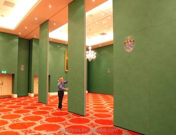 Hotel Zimmer Faltwand Wand Bankett Schalldichte Schiebeturen