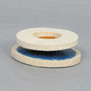 4 inch felt mini round edge diamond grinding wheel