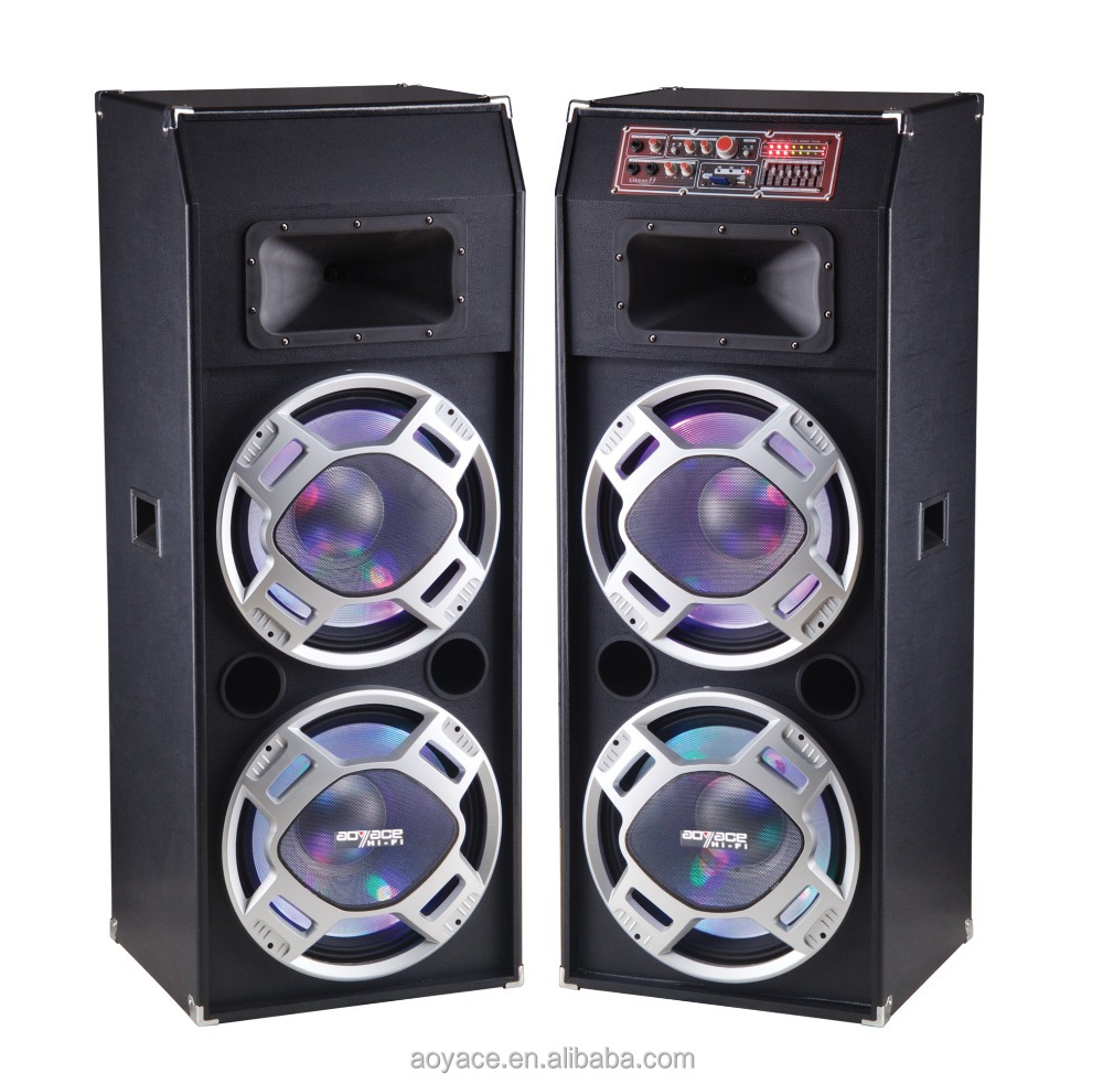 Powerful 15 inch Multimedia Active Stage Speaker with USB/FM SA-1815