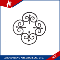 Best Selling Products Cast Iron Staircase Railings Good Quality Wrought Iron Ornaments for Stairs
