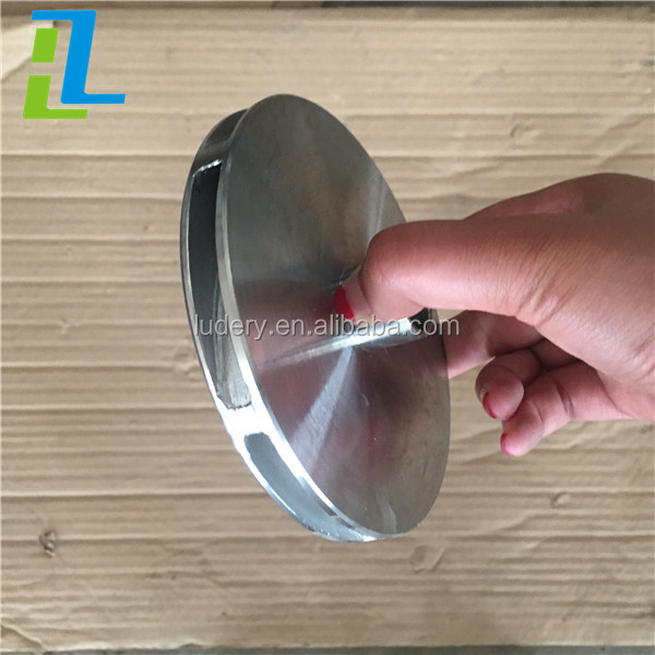 Water Pump Impeller Casting Parts / Investment Casted Pump Parts