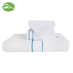 Cheap Hotel Wholesale Linen Embroidered Gym Spa Size Bathroom White 100% Cotton Small Towels Hand Towel