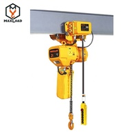 2 ton Electric Chain Hoist with Electric Monorail Trolley