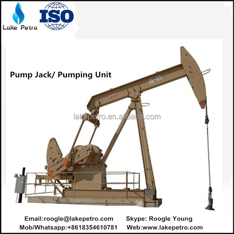 API 11E oil production pumping unit and pump jack