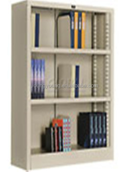 Bibliotheek Meubelen Metalen Kubus Plank Boekenkast Metalen Wand ...