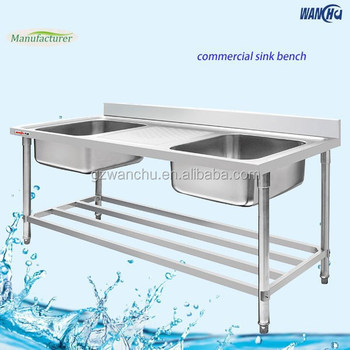 Industrial Kitchen Sink Stainless Steel Small Double Kitchen Sink ...