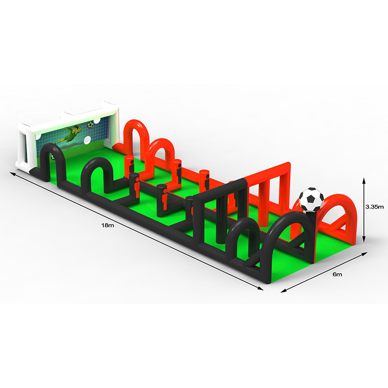Sibo inflatable kids and adults soccer football stand court field sports games for sale