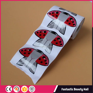 High Quality Plastic Cover Reusable Nail Art Forms For Professional Use