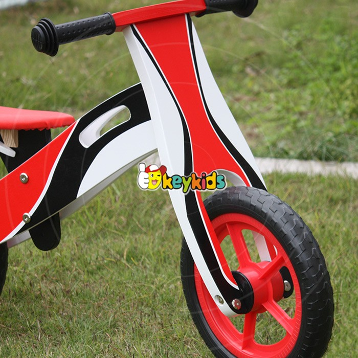 2016 wholesale wooden balance bike for 2 year old, best design wooden balance bike for 2 year old W16C131