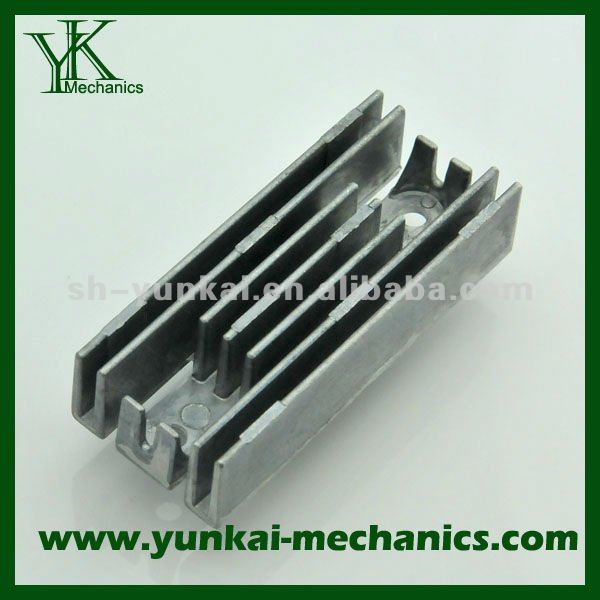 Customized fabraction and high precision aluminum die casting part ,component for radiator,Small quantity accepted