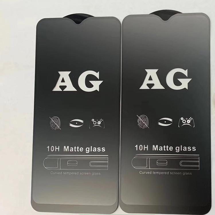 AG tam kapak mat temperli cam film anti parlama 3d ekran koruyucu için huawei Y9 başbakan 2019