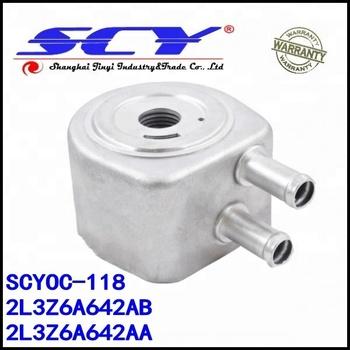 Engine Oil Cooler For Ford F Lzaab Lzaaa Fzaea