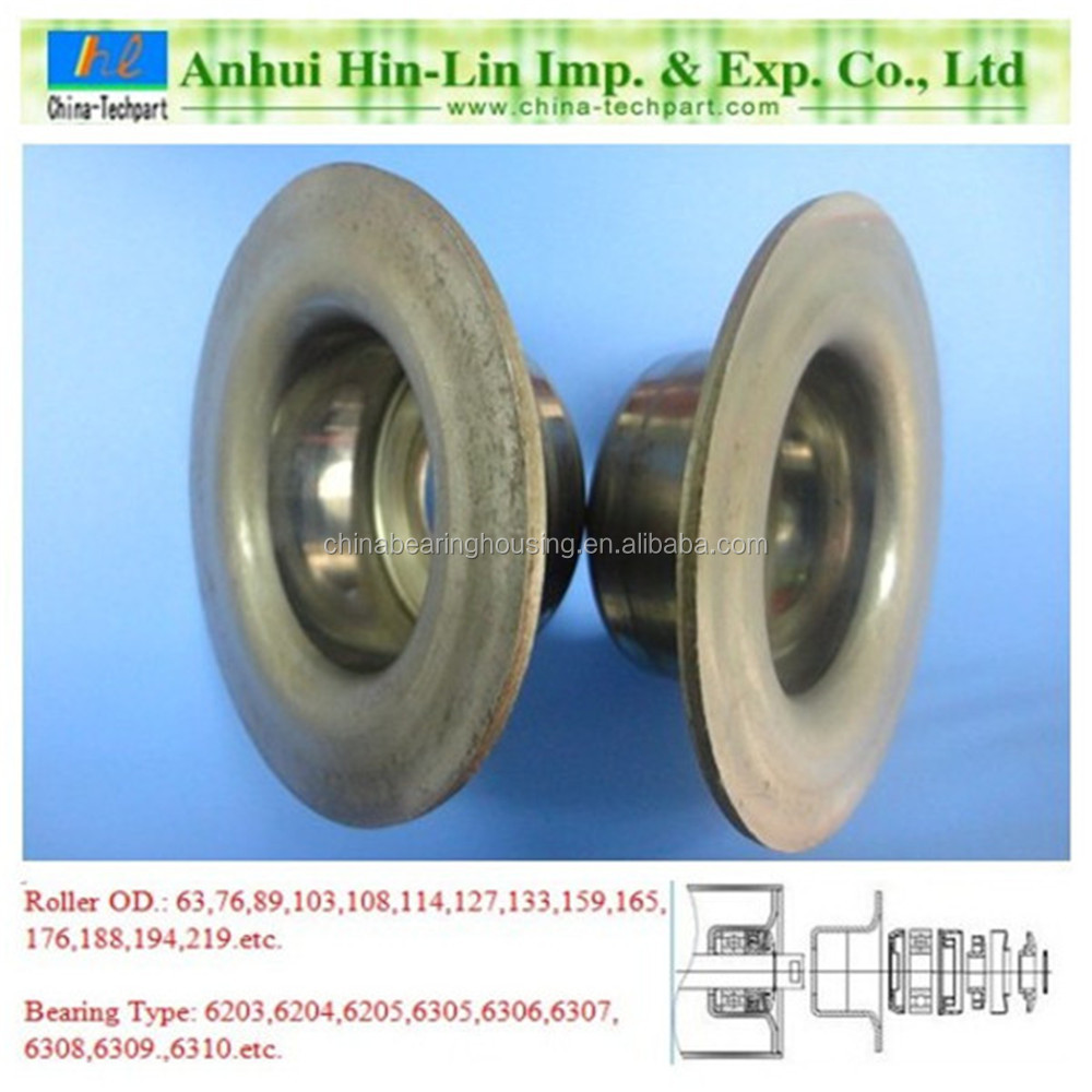 steel pipe roller bearing holder bearing housing kits TK6306-133