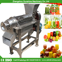 Automatic Orange Apple Juice Extractor Making Industrial Ginger Carrot Juicer Machine