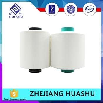 wholesale 40100 / 36F polyester covered spandex yarn for Textile yarn