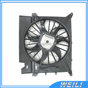 Electric Cooling Fan Radiator Embly 30776236 28909001794 For Volvo Xc90 600w