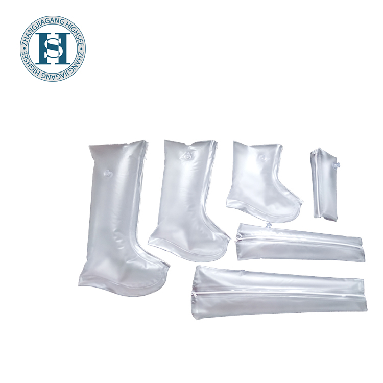 PVC inflatable first aid air splint for emergency rescue