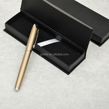 Customized High Quality Metal Ball Pen Set With Black Gift Box For Promotion