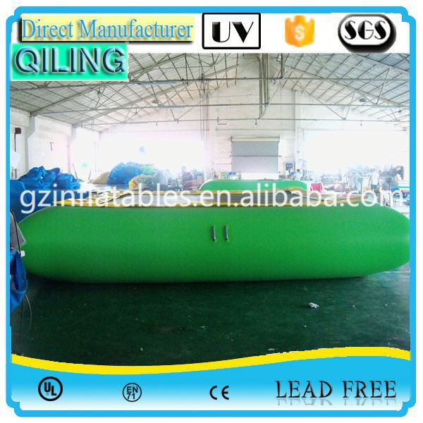Factory customized 0.9mm PVC tarpaulin childrens trampoline imported