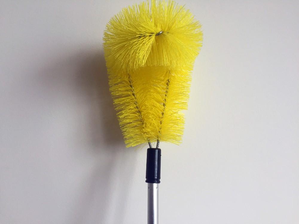 Flexible Telescopic Long Handle Gutter Cleaning Brush