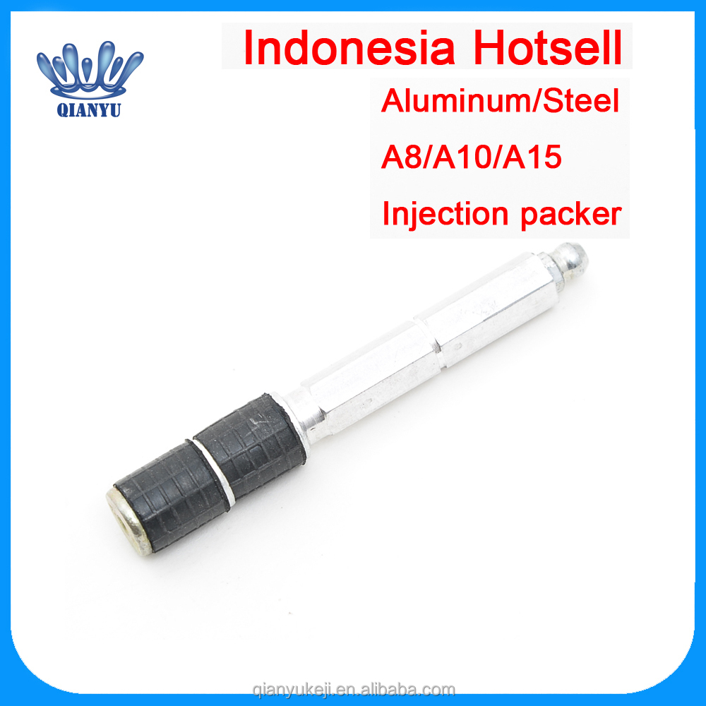 Indonesia Hotsell steel aluminum grout injection packer for Wall Concrete Cracks