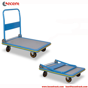 Factory Price Steel Folding Platform Hand Trolley