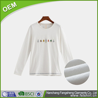 2016 soft textile blank white t shirt below 1 with fashion style China Wholesale good quality sublimation