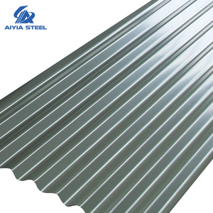 AIYIA Corrugated zinc sheet trapezoidal steel roll forming galvanized zinc roof sheet