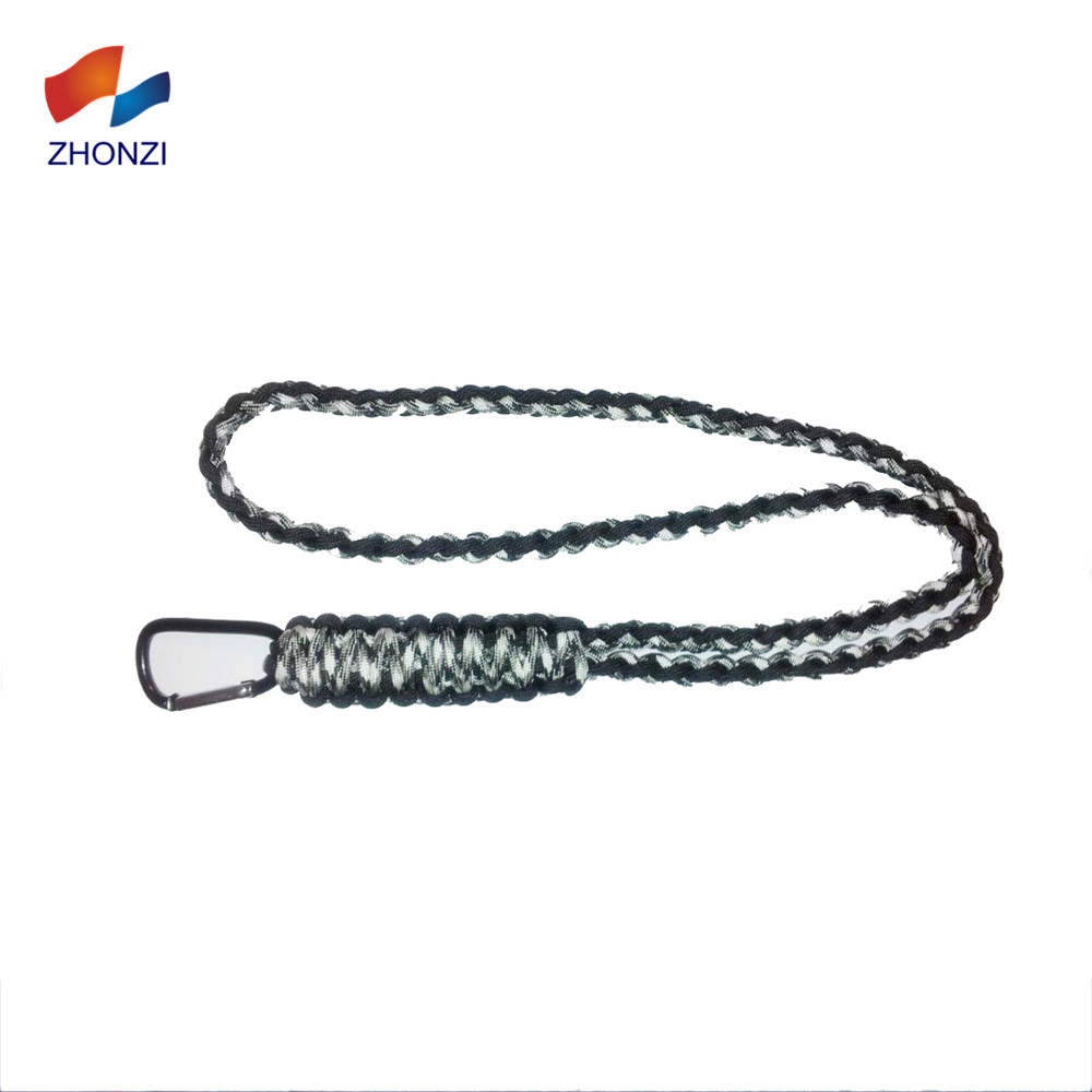 Handmade Paracord Survival Neck Braided Whistle Lanyard