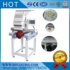 one 1 single Heads Computerized Embroidery Machine Brother Type Swf Software China Good Quality Cap/Flat Embroidery Machine