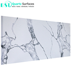 Chinese White Quartz Engineered Stone for Countertop