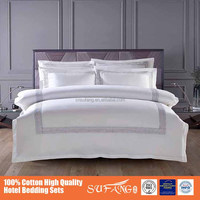 2016 new arrival 5 star hotel use hotel different white bedding set