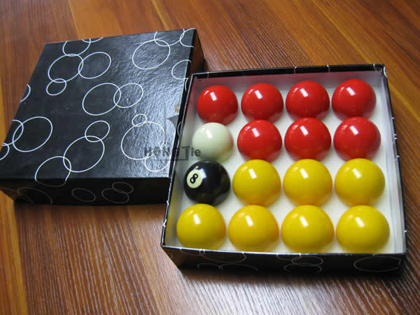 High Quality And Economic Billiard Casino Ball,Yellow And Red Pool ...