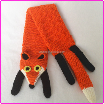Knitted Fox Scarf Pattern Image Collections Knitting Patterns Free